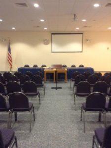 Joe Hughes Memorial Hall Meeting