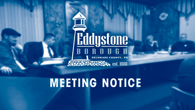 Eddystone Meeting Notice