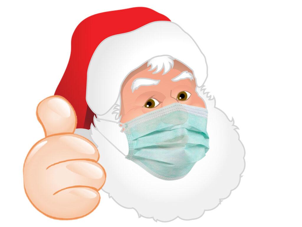 Masked Santa Claus