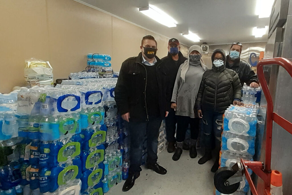 water donation image