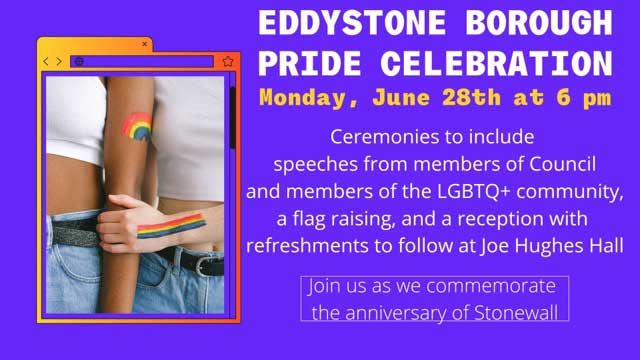 Eddystone Pride Celebration